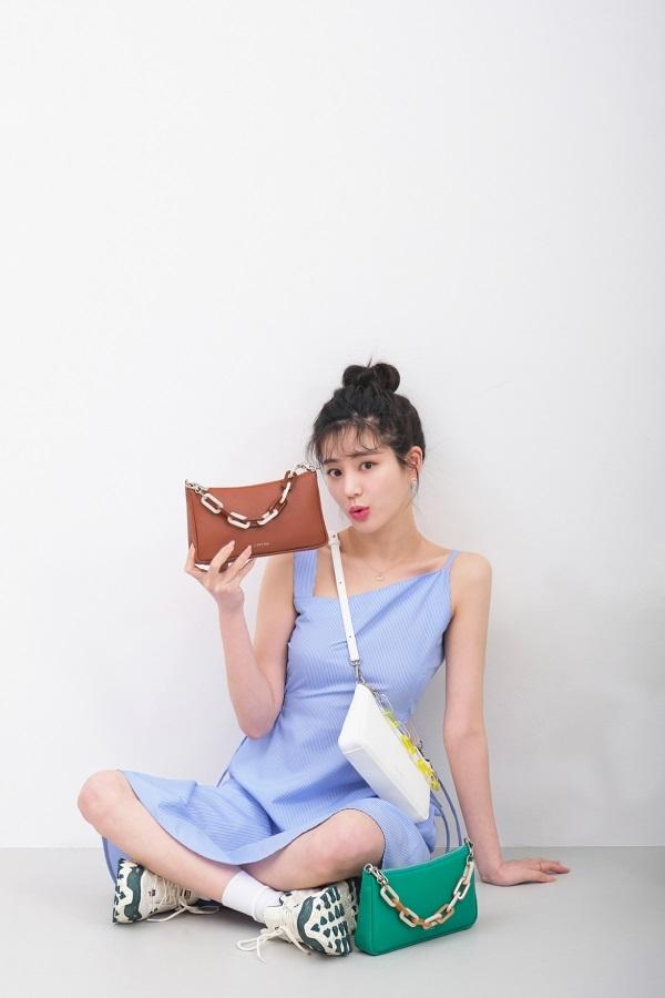 이유비, 상큼발랄한 봄 스타일링 제시 [화보]